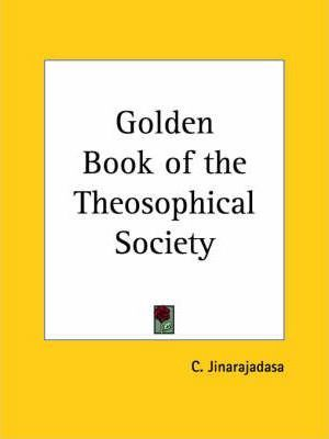 Golden Book of the Theosophical Society (1925)