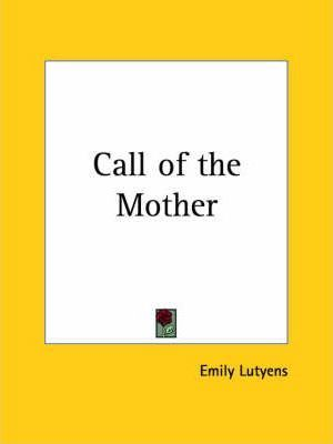 Call of the Mother (1926)