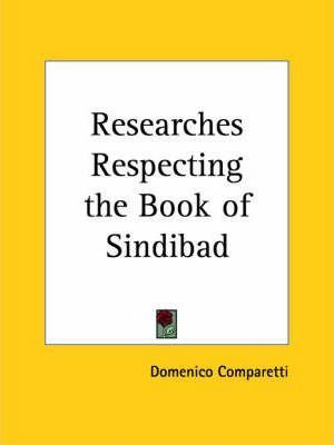 Researches Respecting the Book of Sindibad (1882)