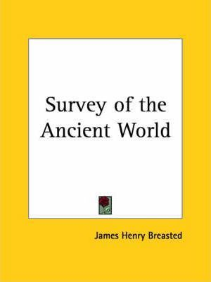 Survey of the Ancient World (1919)