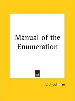 Manual of the Enumeration (1927)