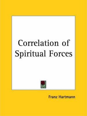 Correlation of Spiritual Forces (1897)