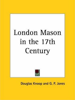 London Mason in the 17th Century (1935)