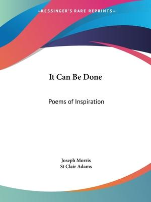 It Can be Done: Poems of Inspiration (1921)