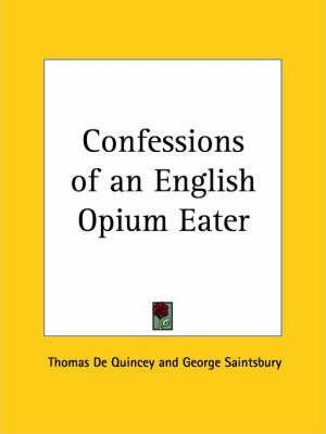 Confessions of an English Opium Eater (1928)
