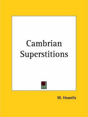 Cambrian Superstitions (1831)