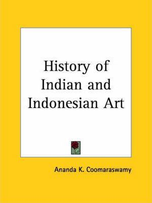 History of Indian and Indonesian Art (1927)