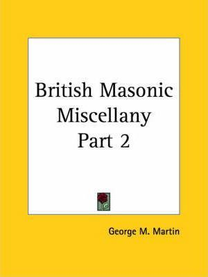 British Masonic Miscellany: v. 2