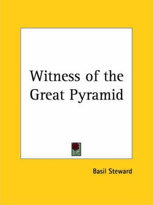 Witness of the Great Pyramid (1927)