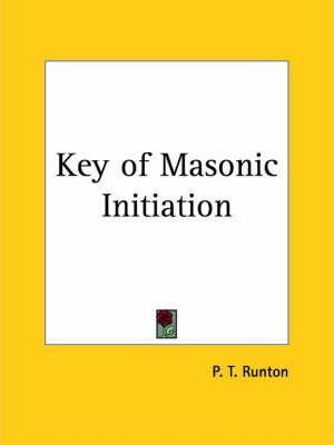 Key of Masonic Initiation