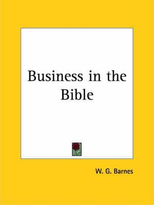 Business in the Bible (1926)