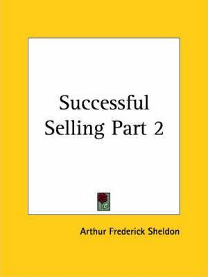 Successful Selling Vol. 2 (1924): v. 2