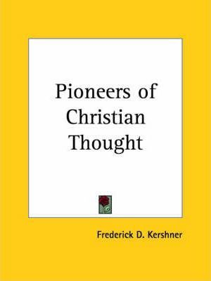 Pioneers of Christian Thought (1930)
