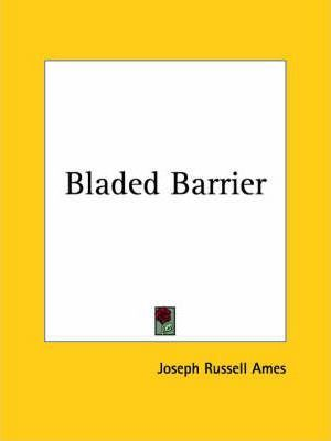 Bladed Barrier (1929)