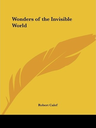 Wonders of the Invisible World (1828)