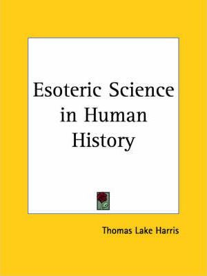 Esoteric Science in Human History (1884)