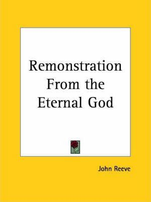 Remonstration from the Eternal God (1653)