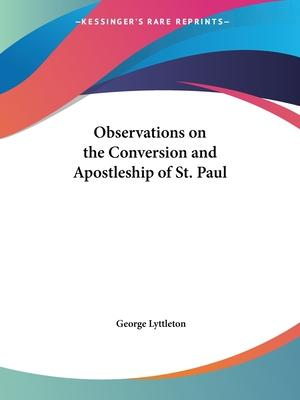 Observations on the Conversion and Apostleship of St. Paul (1785)