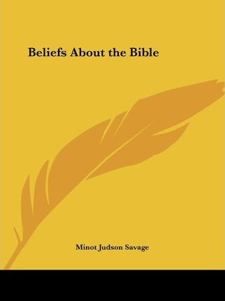 Beliefs about the Bible (1883)