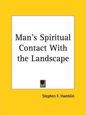 Man's Spiritual Contact with the Landscape (1923)
