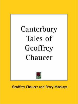 Canterbury Tales of Geoffrey Chaucer (1904)