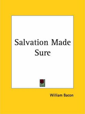 Salvation Made Sure (1826)