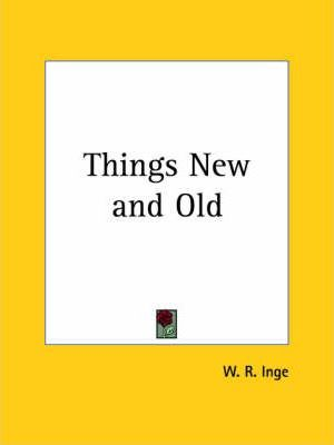 Things New and Old