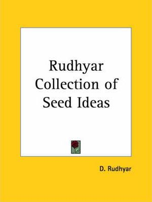 Rudhyar Collection of Seed Ideas (1928)