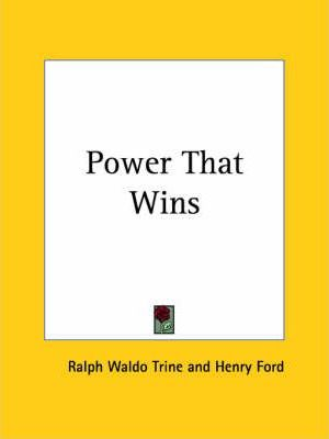 Power That Wins (1928)