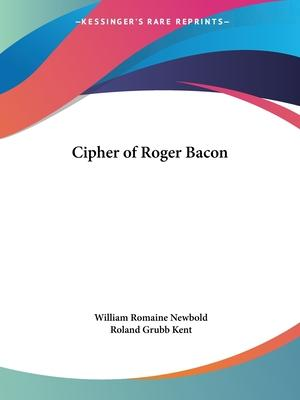Cipher of Roger Bacon (1928)