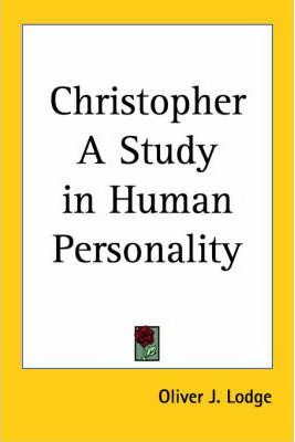 Christopher a Study in Human Personality (1919)