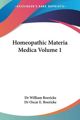 Homeopathic Materia Medica (1927): vol.2