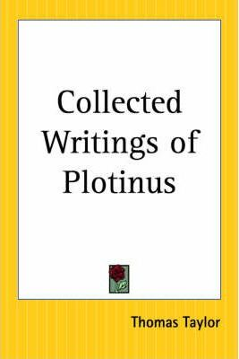Collected Writings of Plotinus