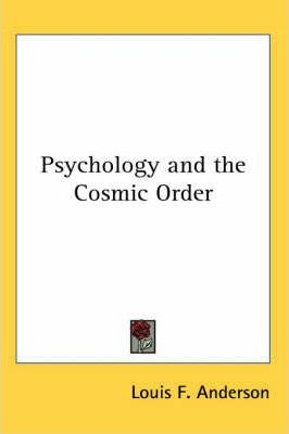 Psychology and the Cosmic Order