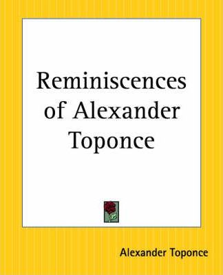 Reminiscences of Alexander Toponce