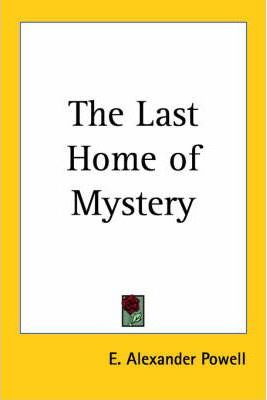 The Last Home of Mystery