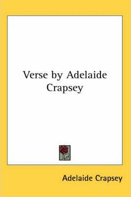Verse by Adelaide Crapsey