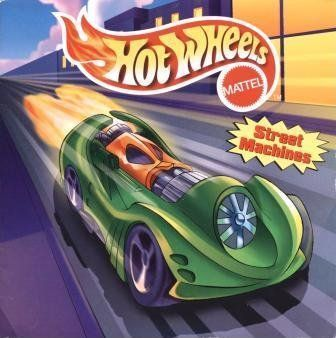Hot Wheels 8x8 Storybook - Street Machines