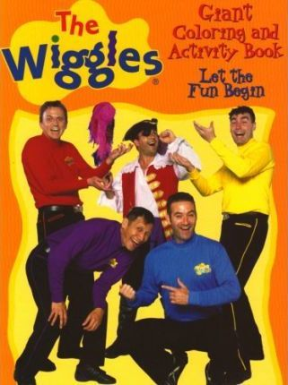 The Wiggles Giant Color/Activity Book - Let the Fun Begin