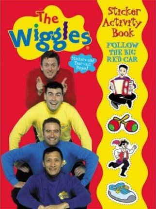 The Wiggles Sticker Activity Book - Follow the Big Red Car