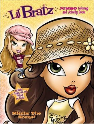 Lil' Bratz Jumbo Coloring and Activity Book