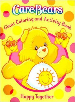 Care Bears Giant Coloring & Activity - Caring Is What Counts