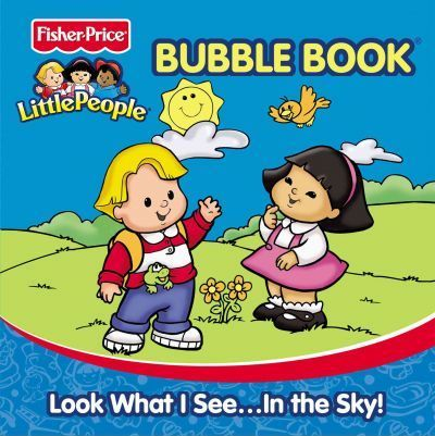 Fisher Price Little People Bath Books - Look What I Seein the Sky