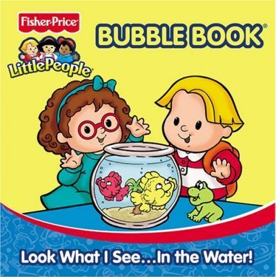 Fisher Price Little People Bath Books - Look What I Seein the Water