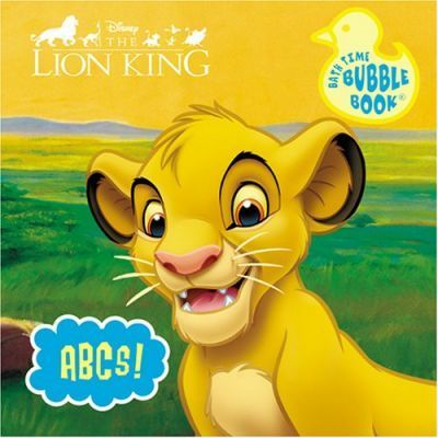Disney Bath Book - Lion King - ABCs