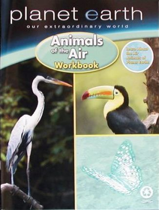 Planet Earth Animals of the Air Workbook