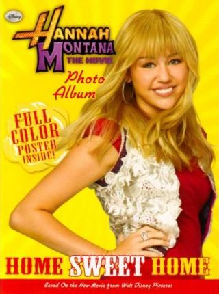 Hannah Montana the Movie Photo Album With Poster