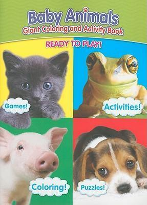 Baby Animals Giant Coloring and Activity Book