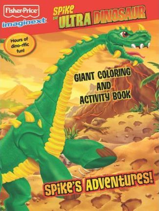 Fisher Price Spike the Ultra Dinosaur Color Book 2