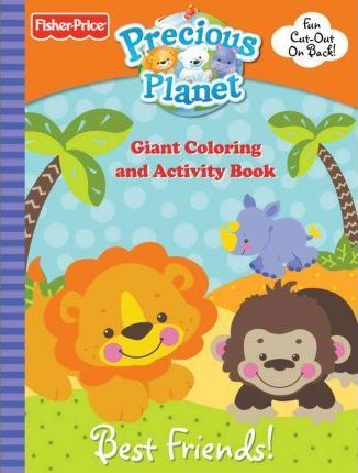 Fisher Price Best Friends Giant Coloring and Activity Book